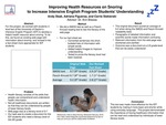 Improving Health Resources on Snoring to Increase Intensive English Program Students' Understanding
