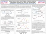 Model Predictive Control Energy Dispatch to Optimize Renewable Penetration for a Microgrid with Battery and Thermal Storage