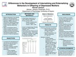 Differences in the Development of Internalizing and Externalizing Behaviors in Children of Depressed Mothers