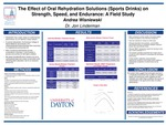 The Effects of Oral Rehydration Solutions (Sports Drinks) on Strength, Speed, and Endurance - A Field Study