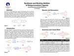 Synthesis and Binding Abilities of Bis(quinoxalino) Ligand
