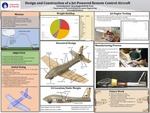 Design of a Jet-Powered Remote Control Aircraft for use at an Intercollegiate Competition