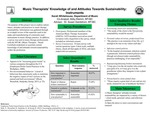 Music Therapists' Knowledge of and Attitudes Toward Sustainability: Instruments