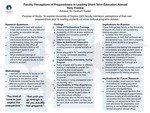 Faculty Perceptions of Preparedness in Leading Short-Term Education Abroad Programs