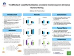 The Effects of Sublethal Ampicillin Exposure on Listeria monocytogenes Virulence