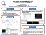 The security robustness of Modbus/TCP protocol in industrial control systems