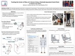 Tracking the Center of Mass of a Human Using a Statically Equivalent Serial Chain
