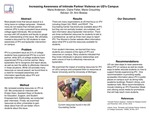 Increasing Awareness of Intimate Partner Violence on UD's Campus