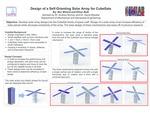 Design Modeling of Various CubeSat Solar Arrays Configurations