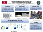 Resolution exploration using Two-Dimensional Deep Learning Architectures for Infrared Data Captures