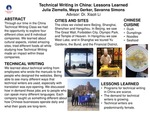 Technical Writing in China