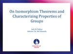 On Isomorphism Theorems and Characterizing Properties of Groups