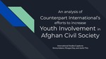 A Critical Analysis of Youth Empowerment in Afghan Civil Society by Counterpart International