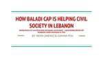 How BALADI CAP Has Helped Civil Society in Lebanon