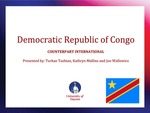 The Democratic Republic of Congo: Evaluation of program for voter education