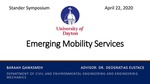 Emerging Mobility Services