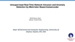Unsupervised Real-Time Network Intrusion and Anomaly Detection by Memristor Based Autoencoder