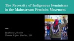 The Necessity of Indigenous Feminisms in the Mainstream Feminist Movement