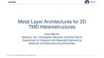 Metal Layer Architectures for 2D TMD Heterostructures