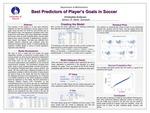 Best Predictors of Player's Goals in Soccer