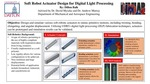 Soft Robot Actuator Design for Digital Light Processing