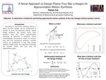 A Novel Approach to Design Planar Four-Bar Linkages for Approximation Motion Synthesis