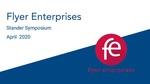 Flyer Enterprises - Overview