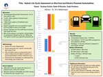 Hybrid Life Cycle Assessment on Bio-Fuel and Electric Powered Automobiles