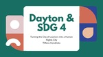 Dayton & Sustainable Development Goal 4: Turning the City of Learners into a Human Rights City
