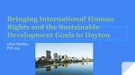 Bringing International Human Rights and the Sustainable Development Goals to Dayton