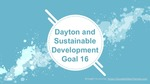 Dayton and Sustainable Development Goal 16