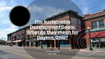 The Sustainable Development Goals: What Do They Mean for Dayton, Ohio?