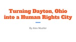 Turning Dayton, Ohio, into a Human Rights City