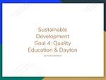 Sustainable Development Goal 4: Quality Education & Dayton