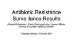 As Above, So Below: Antibiotic Resistance of Soil and Surface Microbes