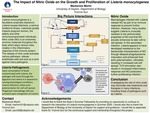The Impact of Nitric Oxide on the Growth and Proliferation of Listeria monocytogenes