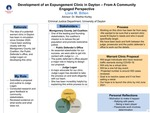 Development of an Expungement Clinic in Dayton - From A Community Engaged Perspective