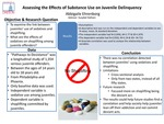 Effects of Substance Use on Juvenile Delinquency