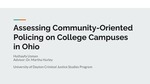 Assessing Community-oriented Policing on College Campuses in Ohio