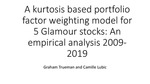 A Kurtosis Factor Weighting Portfolio Model for Glamour Stocks: An Empirical Analysis 2009-2019
