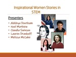 Inspirational Women Stories in STEM
