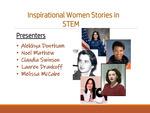 Inspirational Women Stories in STEM