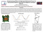 Designing Energy Efficient & High-Speed Mechanical Presses for Improved Ram Motion using Advanced Algebraic Techniques