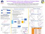 Spectral dependence of the Verdet coefficients of Terbium Gallium Garnet and Potassium Terbium Fluoride