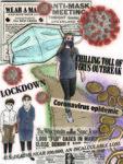 Cara Simmons: 1918 & 2020 Pandemic Poster