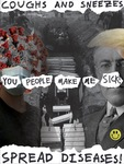 Max Benson: 1918 & 2020 Pandemic Poster by Maxwell Benson