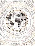 Olivia Marklay: 1918 & 2020 Pandemic Poster by Olivia Marklay