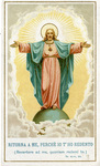 Ritorna A Me holy card