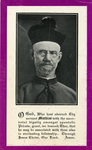 Right Reverend Mathias Gerend memorial holy card