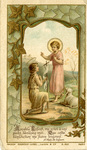 Aimable Enfant holy card